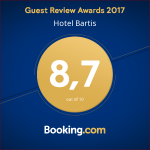 Guest Review Awards 2017 - Hotel Bartis